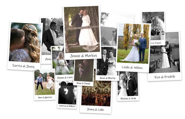 Bröllopsfotograf i Borås