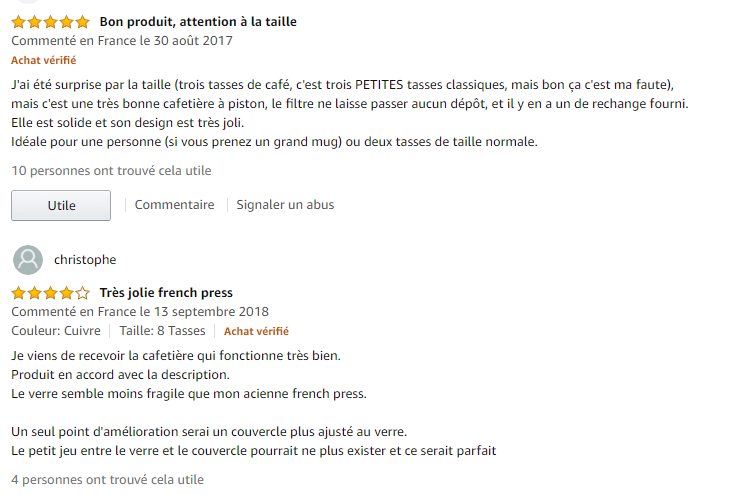 BonVIVO GAZETARO I commentaire amazon