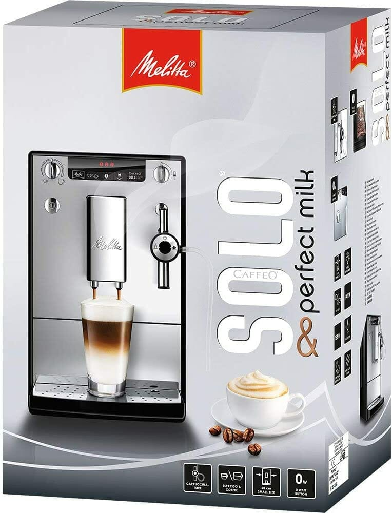 Melitta Caffeo Solo & Perfect Milk E957-101 test et avis
