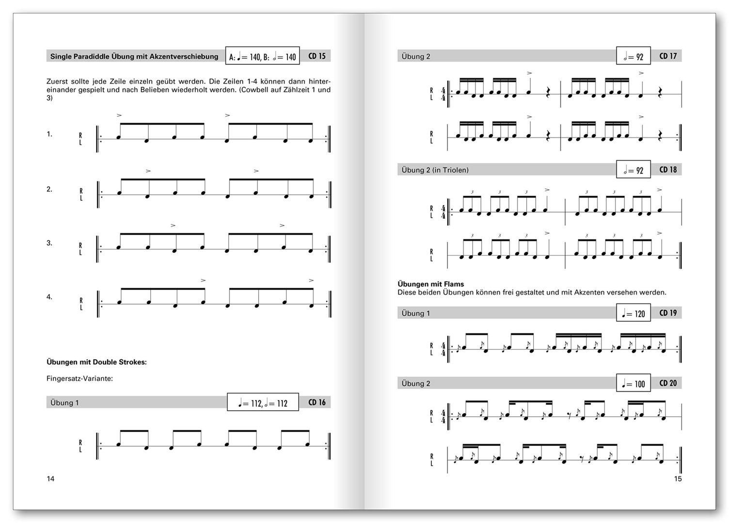 Schmitt, Werner: Big Band Ballroom Drumming (Buch + CD
