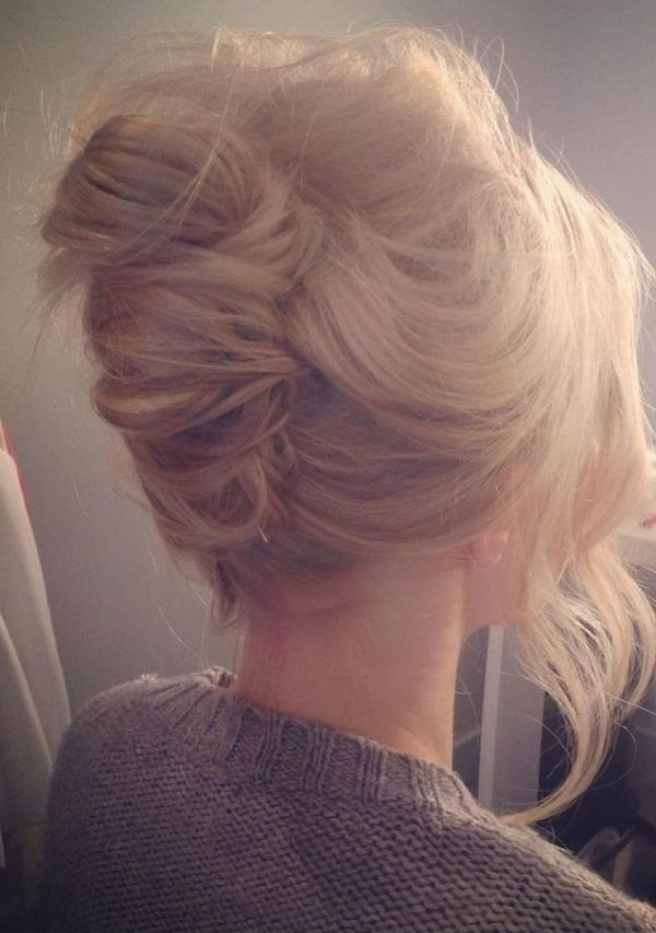 Hairstyle Favourites The French Twist wedding hair
