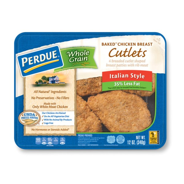 PERDUE Refrigerated Whole Grain Breaded Chicken Breast