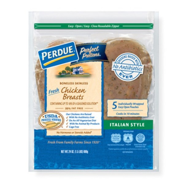 PERDUE PERFECT PORTIONS Boneless Skinless Chicken