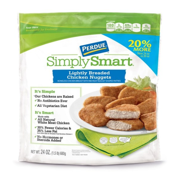PERDUE SIMPLY SMART Lightly Breaded Chicken Nuggets 24