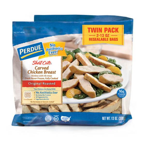 PERDUE SHORT CUTS Carved Chicken Breast Grilled 16 oz