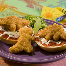 PERDUE FUN SHAPES Refrigerated Breaded Chicken Breast