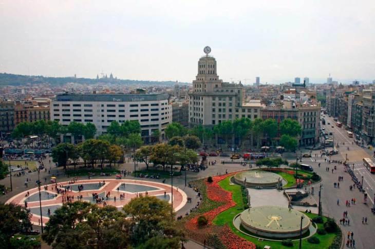 5 cosas que no sabías de la Plaza de Cataluña