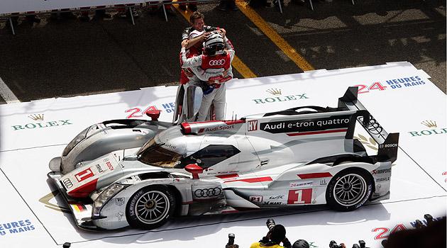 Victoria de Audi en Le Mans con tecnologia hibrida
