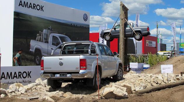 Volkswagen estuvo presente en Expoagro 2013