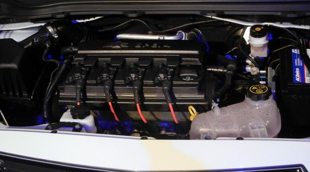 El motor del Chevrolet Onix y Prisma