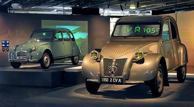 Citroen 2CV 1950 y 1966