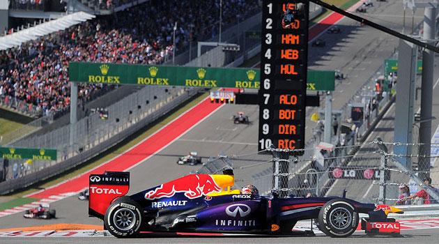 GP de USA F1 - Otro triunfo y record para Vettel
