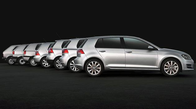 El Volkswagen Golf cumple 40 años