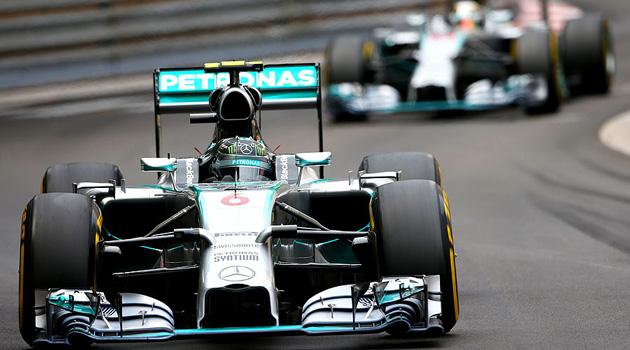 Victoria de Rosberg en el GP de Monaco