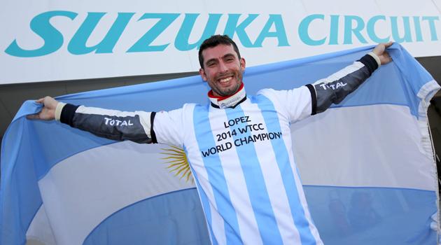 Pechito Lopez Campeon Mundial del WTCC