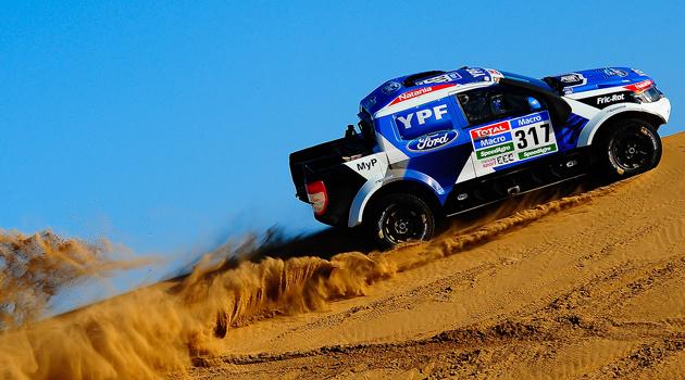 Federico Villagra competirá en el Dakar 2015 con una Ford Ranger