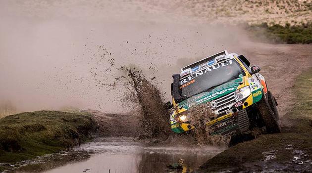 Renault Duster Team en el Dakar 2015