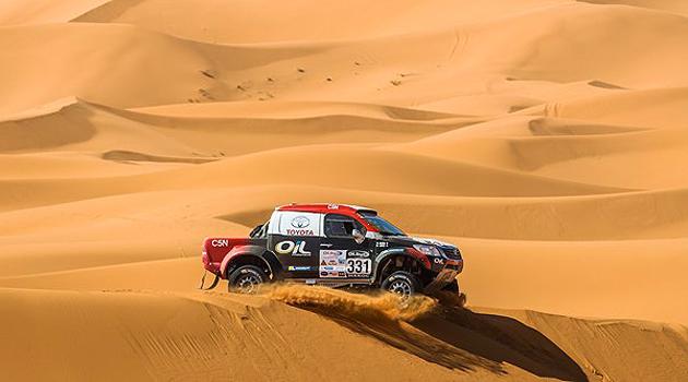 Toyota en el Dakar 2015