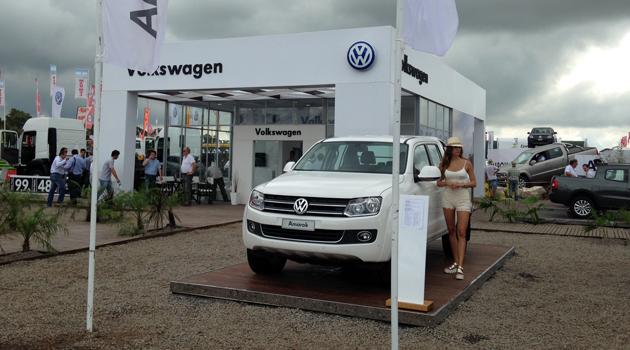 Volkswagen en Expoagro 2015