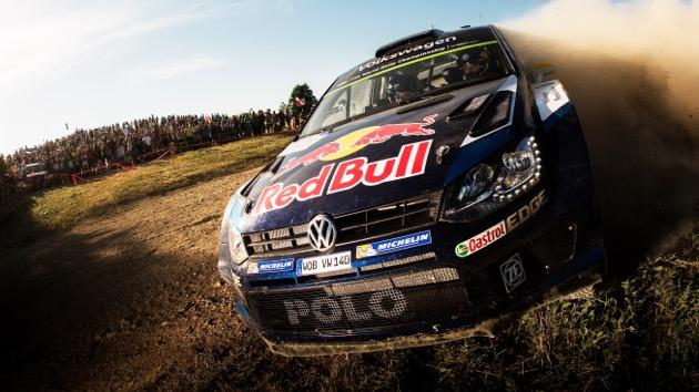 WRC en Polonia - Ogier