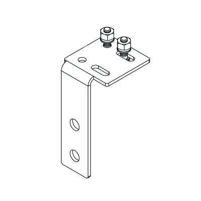 Safety Cable Routing Bracket, PV-SFA Series, No Cable
