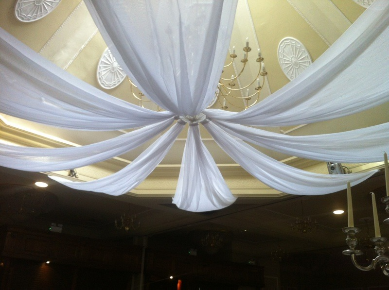 Wedding and Event Ceiling Drapery  Party Decor