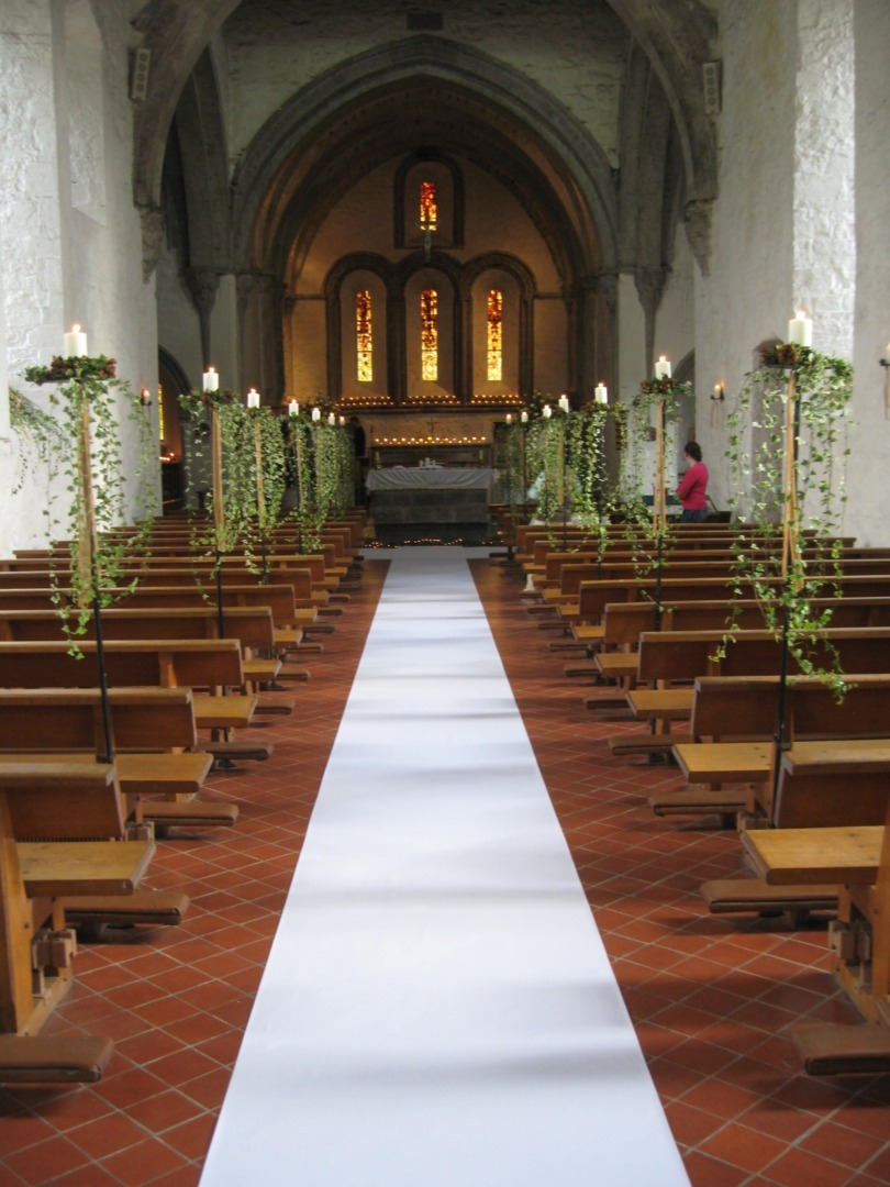 Church Blessing Decor Perfect Details