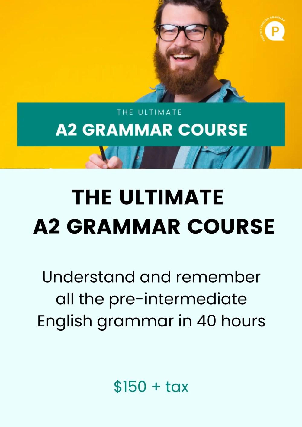 medium resolution of English Grammar Exercises and Quizzes