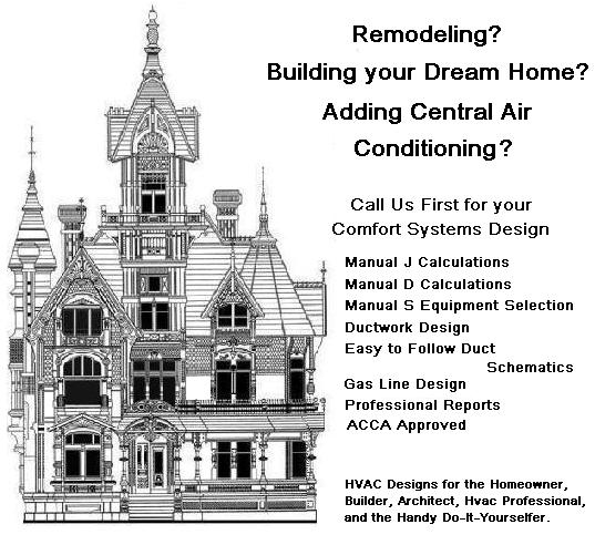 HVAC DESIGN, air conditioning and heating systems for a