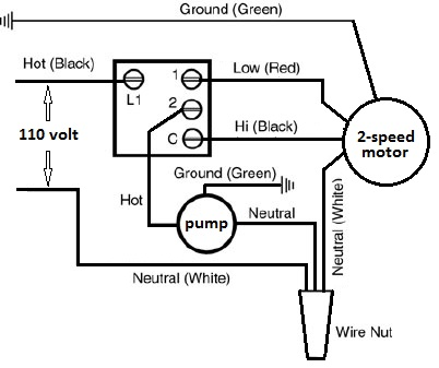 110 Volt Wiring Diagram