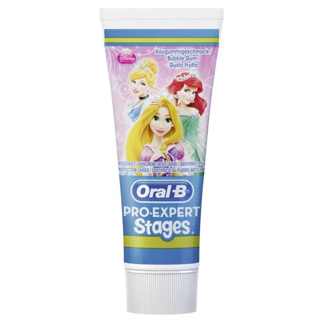 Oral-B Stages Kinderzahncreme Prinzessin 75ml Zahnpasta