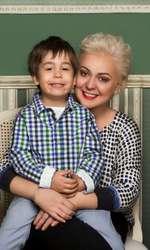 Monica Anghel și fiul ei, Aviv, într-o ședință foto pentru VIVA! acum câțiva ani