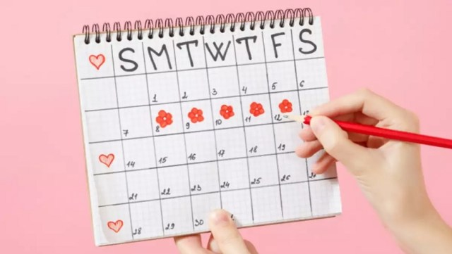 calendar menstruatie