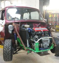 mini with yamaha r1 engine wiring loom work in progress [ 1920 x 1080 Pixel ]