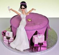 Designer Bridal Shower Cake Designs