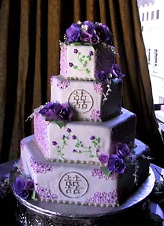 Full Size Of Wedding Cakes Purple Ideas With Fountains