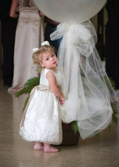 Wedding Flowers Infant Flower Girl In Weddings