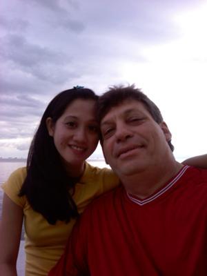 Peter Mancusi And Rhodora Daria