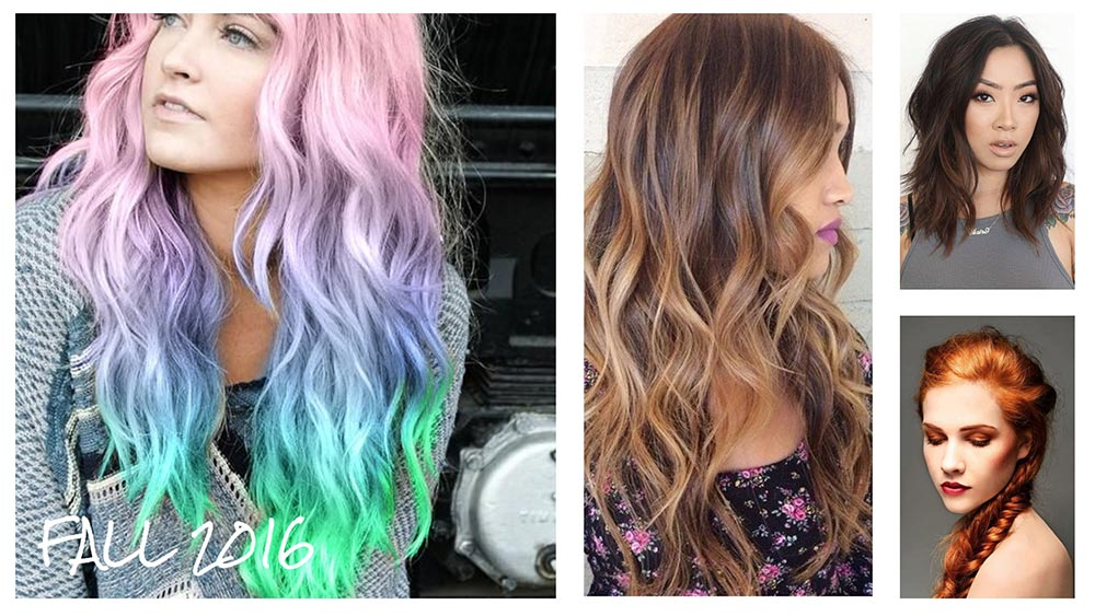 The Hottest Hair Color Trends For Fall Perfect Digital - Hair colour of 2016