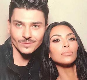 Mario Dedivanovic and Kim Kardashian West