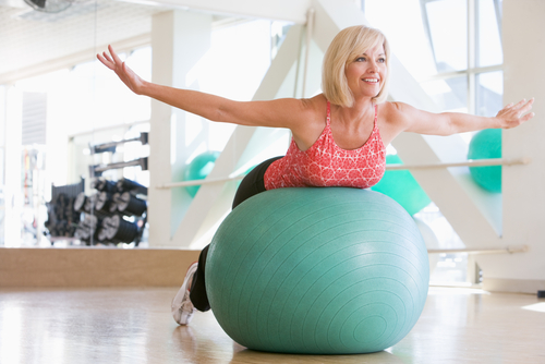Working out to build muscle in your 50s
