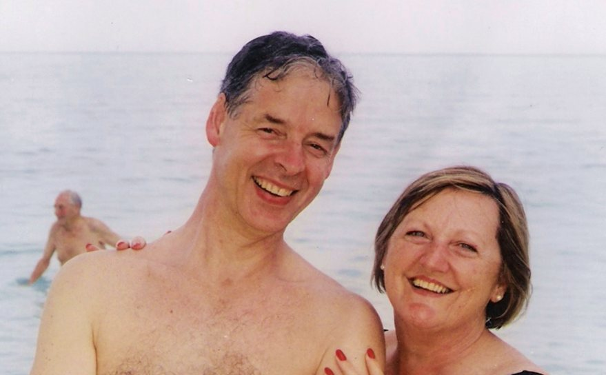 Photo of Peter & Hilary Lawes