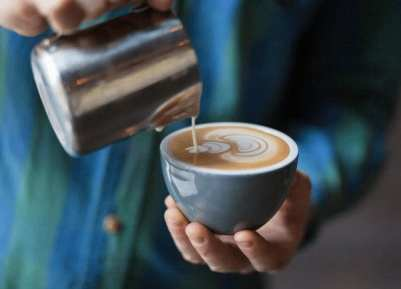 Image result for cafe con leche desnatada