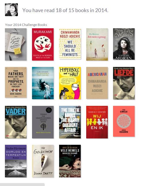 goodreads 2014