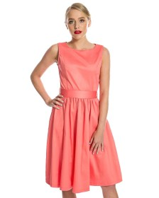 vintage classic φόρεμα Audrey coral