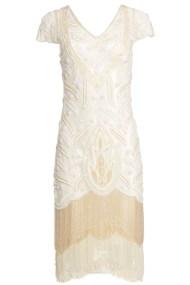 20s goddess bridal luxe vintage φόρεμα