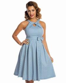 vintage cute φόρεμα chic bow Hariette