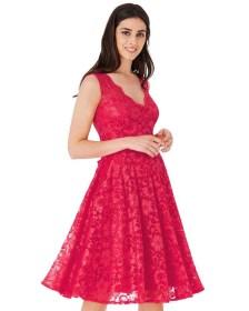 sweet Cerise φόρεμα εξώπλατο δαντέλα