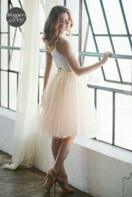 blogger beloved romantic tutu φούστα σε μπεζ