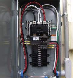 we have removed the mast meter fpe main and the sub feeds we have installed a new 200 amp meter can with 2 pipe and 2 0 wire for new mast  [ 1536 x 2048 Pixel ]